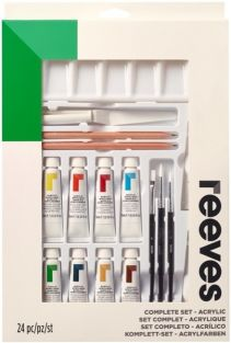 ACRYLIC COMPLETE PAINTING SET