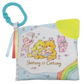 CARE BEARS SOFT BOOK WITH CLIP