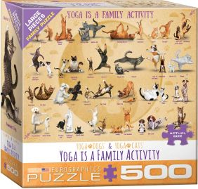 YOGA IS A FAMILY ACTIVITY 500PC
