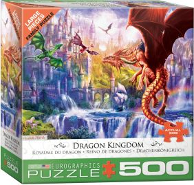 DRAGON KINGDOM 500-PIECE FAMIL