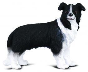 BORDER COLLIE DOG FIGURE