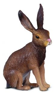 BROWN HARE FIGURE