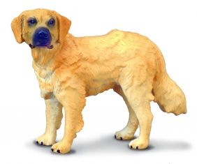 GOLDEN RETRIEVER DOG FIGURE