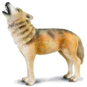 TIMBER WOLF HOWLING FIGURE
