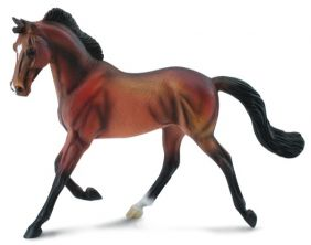 THOROUGHBRED MARE BAY FIGURE