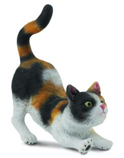 CALICO HOUSE CAT FIGURE