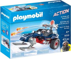 ICE PIRATE WITH SNOWMOBILE SET