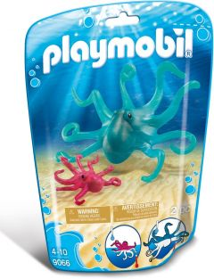 OCTOPUS WITH BABY