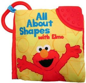ALL ABOUT SHAPES WITH ELMO SOFT BOOK
