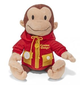 CURIOUS GEORGE LEARN TO DRESS