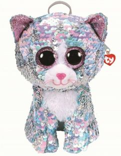 WHIMSY CAT SEQUIN BACKPACK