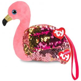 GILDA FLAMINGO SEQUIN WRISTLET