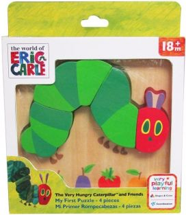 VERY HUNGRY CATERPILLAR MY FIRST PUZZLE
