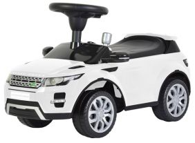 WHITE RANGE ROVER RIDE-ON WITH