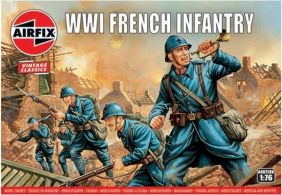(SALE) 1/76 WWI FRENCH INFANTRY FIGUR