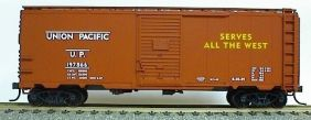 HO UNION PACIFIC 40' AAR STEEL