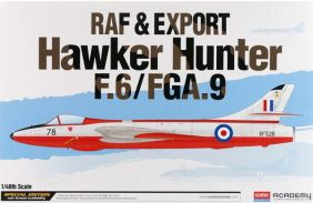 ACADEMY 1/48 HAWKER HUNTER F6/
