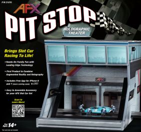 AFX HO PIT STOP HOLOGRAPHIC TH