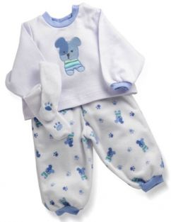 PUPPY PAJAMAS-NEWBORN NURSERY