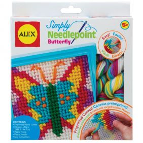 SIMPLY NEEDLEPOINT-BUTTERFLY