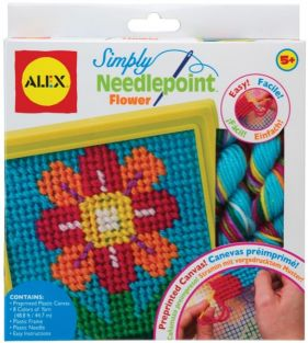 SIMPLY NEEDLEPOINT-FLOWER
