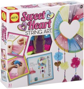 SWEETHEART STRING ART CRAFT KIT