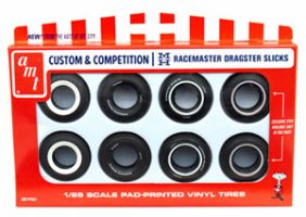 AMT 1/25 RACEMASTER DRAGSTER SLICKS #PP001
