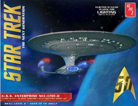 AMT 1/1400 STAR TREK USS ENTER