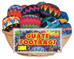 GUATE FOOTBAG-ASSORTED