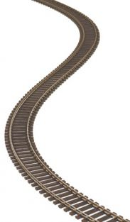 HO SUPERFLEX TRACK NICKEL