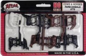 HO COWS & HORSES KIT