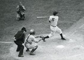 HANK GREENBERG AT BAT BLANK