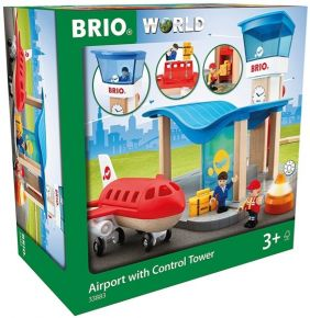 AIRPORT WITH CONTROL TOWER SET
