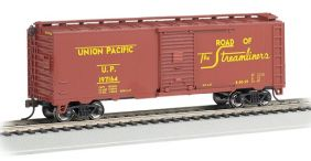 UNION PACIFIC BOXCAR STEAM ERA
