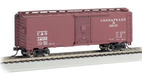 C&O STEAM ERA BOXCAR