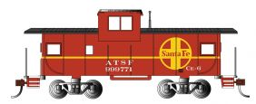 HO SF 36' WIDE VISION CABOOSE