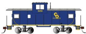 HO C&O 36' WIDE VISION CABOOSE