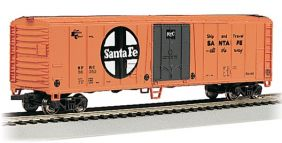 HO 50' SANTA FE STEEL REEFER