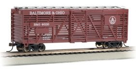 HO BALTIMORE & OHIO 40' STOCK