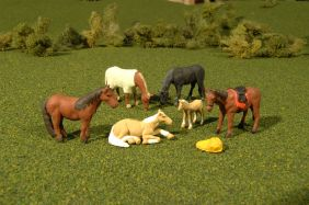 O HORSES (6-PACK) #33169 BY BA