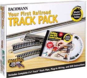 HO YOUR 1ST RAILROAD TRACK PAC