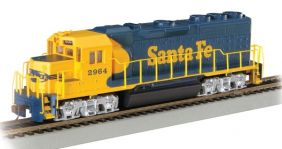 HO SF EMD GP40 DSL DCC READY