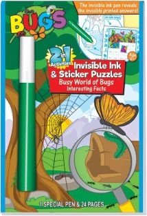 (SALE) BUGS 2 IN 1 INVISIBLE INK & ST