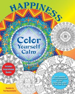 COLOR YOURSELF CALM HAPPINESS