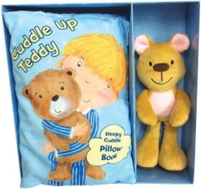 (SALE)CUDDLE UP TEDDY PILLOW B