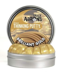 "2"" BRILLIANT GOLD THINKING PUT"