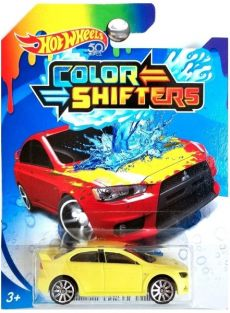HOT WHEELS COLOR SHIFTERS VEHI