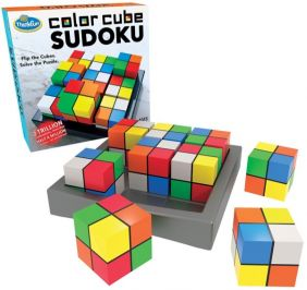 COLOR CUBE SUDOKU GAME #1560 B