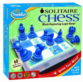 THINK FUN SOLITAIRE CHESS GAME #3400