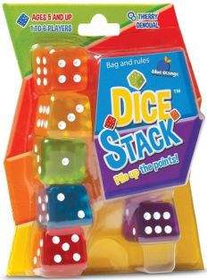 DICE STACK GAME #04502 BY BLUE